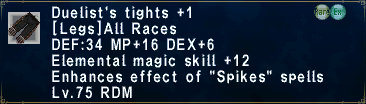 DuelistsTights +1