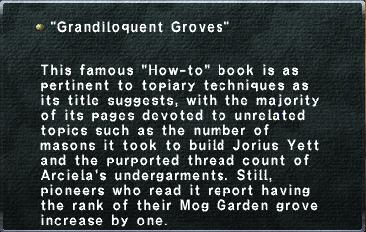 Grandiloquent Groves