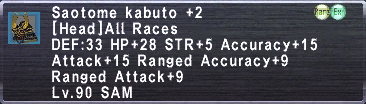Saotome Kabuto Plus 2