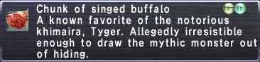Singed Buffalo