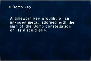 Bomb Key