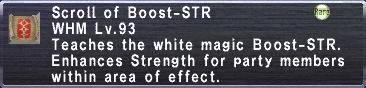 Boost-STR