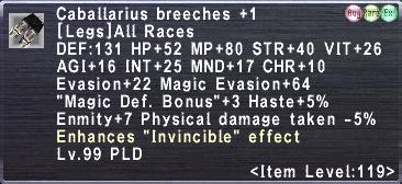 Caballarius breeches +1