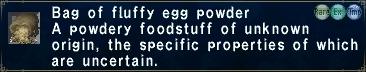 Fluffy Egg Powder