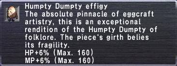 Humpty Dumpty Effigy