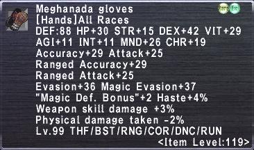 Meghanada Gloves