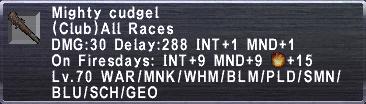 Mighty cudgel