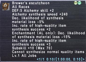Brewer's Escutcheon