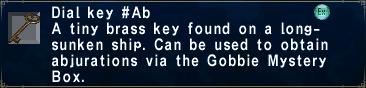 Dial Key -Ab