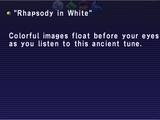Rhapsody in White
