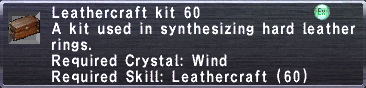 Leathercraft Kit 60