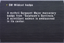 SM Wildcat badge