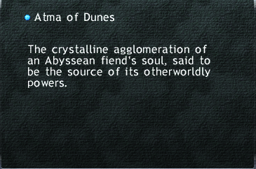 Atma of the Dunes