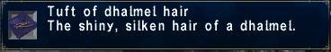 Dhalmel hair