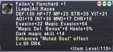 Fallen's Flanchard Plus 1