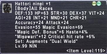 Hattori Ningi +1