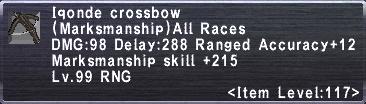 Iqonde Crossbow