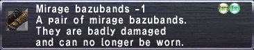 Mirage Bazubands -1