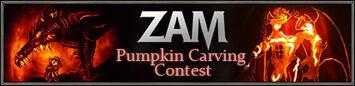 Nouveau concours de citrouilles d'Halloween de ZAM! (14.10.2011)