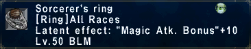 Sorcerer's Ring