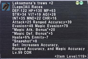 Laksamana's Trews +2