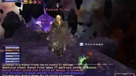 Oliveman - Ramuh - Naked Avatar Solo - FFXI