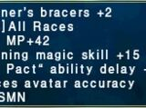 Summoner's Bracers +2