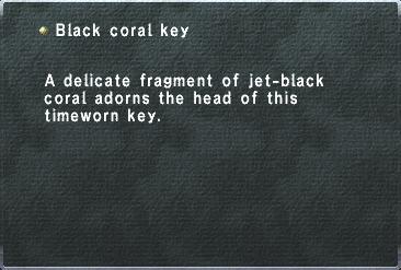 Black Coral Key