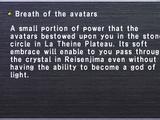 Breath of the avatars