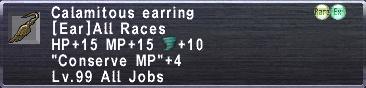 Calamitous Earring