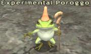 Experimental Poroggo