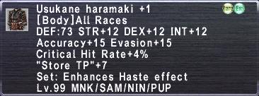 Usukane Haramaki +1