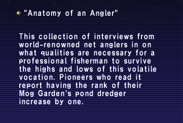 Anatomy of an Angler