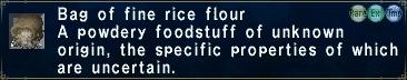 Fine Rice Flour