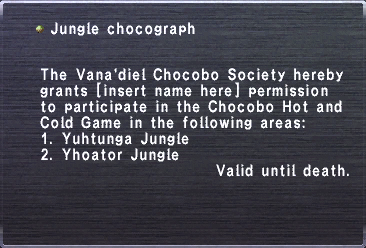 Jungle Chocograph