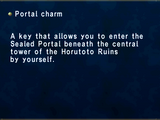 Portal Charm