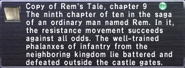 Rem's Tale, chapter 9