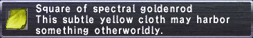 Spectral Goldenrod