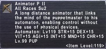 Animator P II