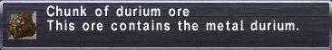 Durium ore