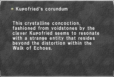 Kupofried's corundum