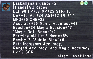 Laksamana's Gants +2
