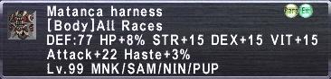 Matanca Harness