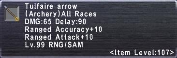 Tulfaire Arrow