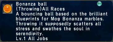 Bonanza Ball