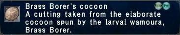 Brass Borer's Cocoon