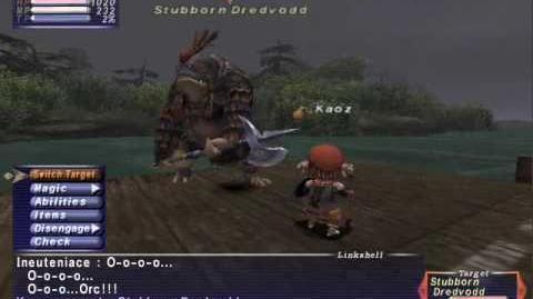 FFXI NM Saga 145 Stubborn Dredvodd vs BST solo Full Battle (Rare Spawner)