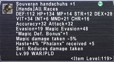 Souveran Handschuhs Plus 1
