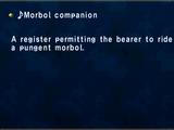 ♪Morbol companion