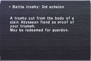 3rd echelon